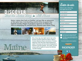 Backpacker Magazine / Maine Tourism