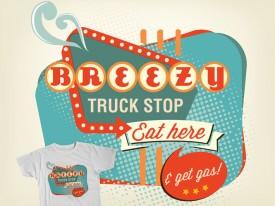 Breezy's Truck Stop tee shirt
